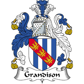 Grandison Family Crest / Coat of Arms