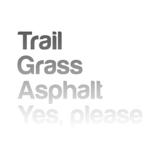 Trail Grass Asphalt