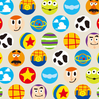 Toy Story | Toy Icon Pattern