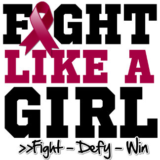 Multiple Myeloma Sporty Fight Like a Girl
