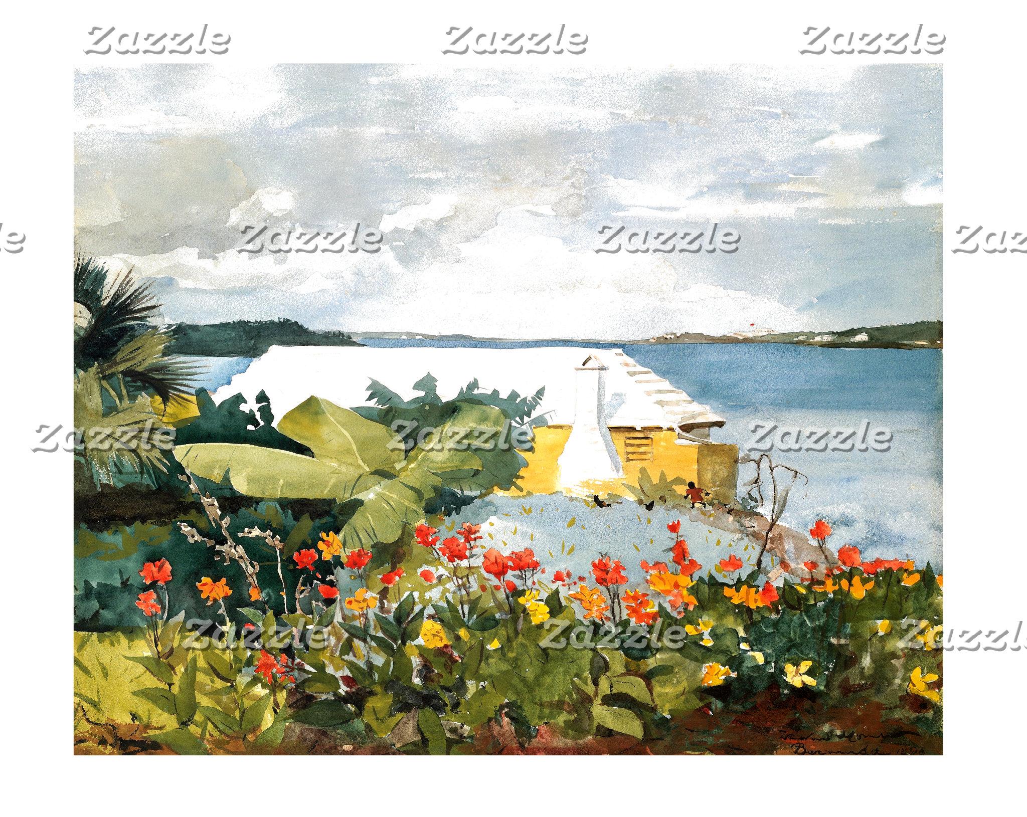 Colorful Islands, or Coastal,  Art