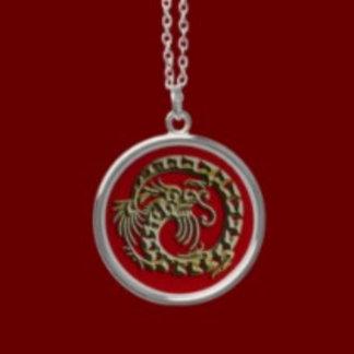 Dragon Charm Necklaces