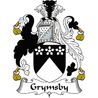 Grymsby Family Crest / Coat of Arms