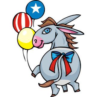 Fun Democrat Donkey