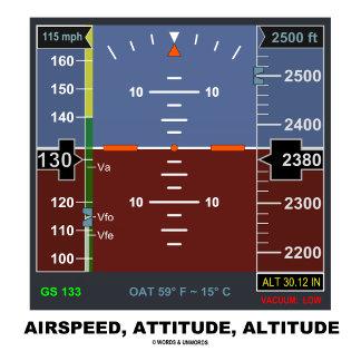 Airspeed Attitude Altitude (EFIS)