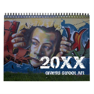 2016 Calendar | Graffiti Street Art