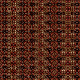 Dark Brown Abstract Pattern