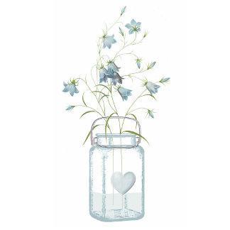 Blue Bells in a Mason Jar Wedding Set
