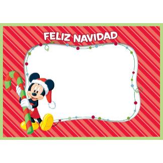 Mickey Mouse Feliz Navidad