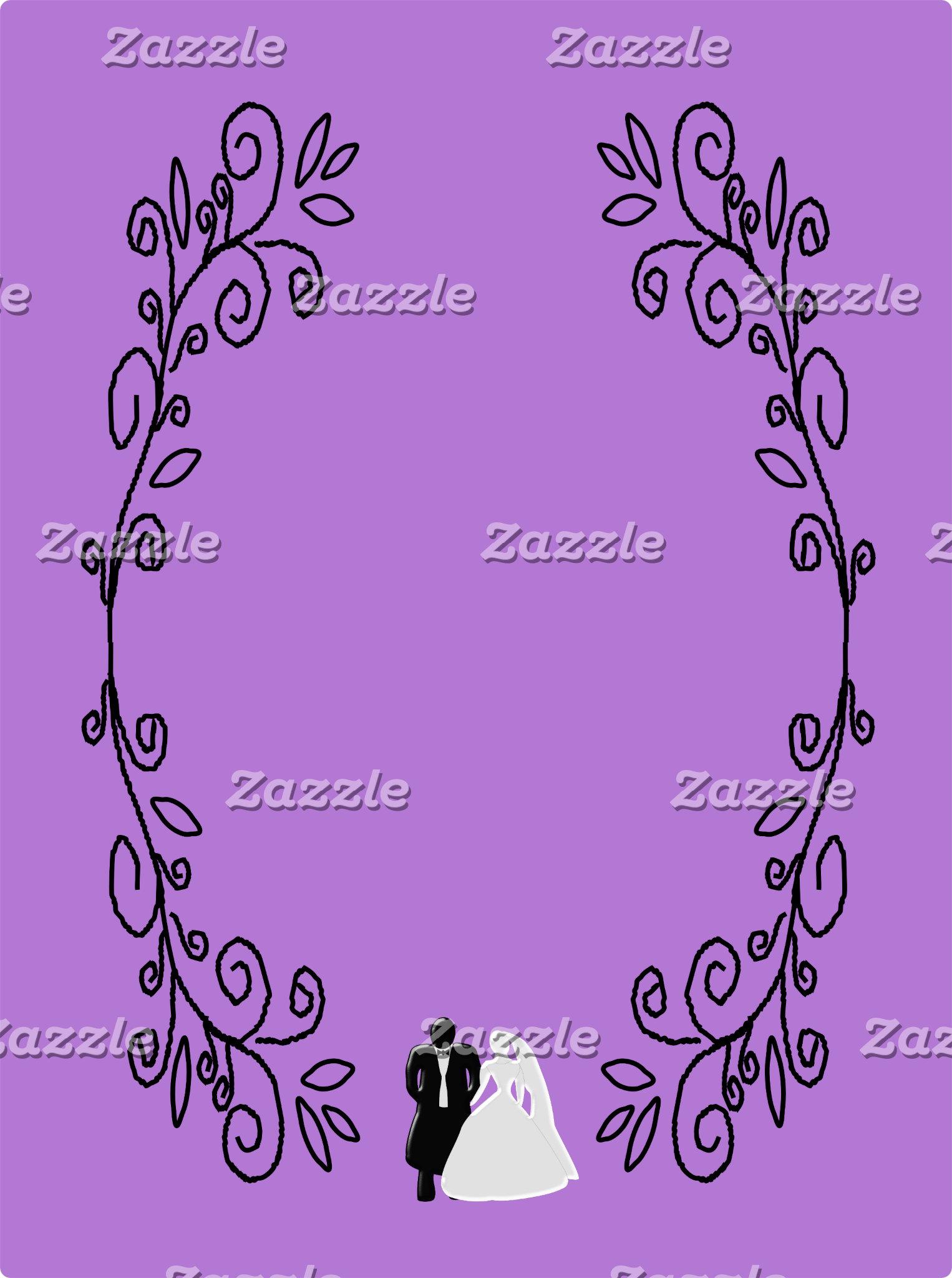 Lavender Damask