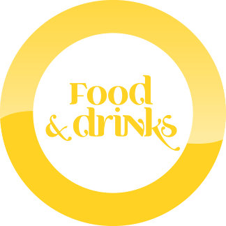 FOOD. DRINKS.