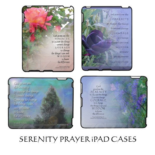 Serenity Prayer iPad Cases