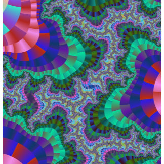 Green and Blue Fractal Gear Products