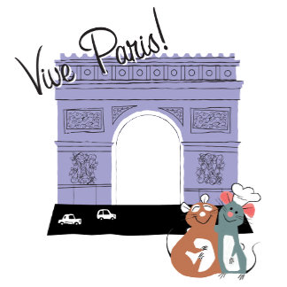 Vive Paris! Arc De Triomphe