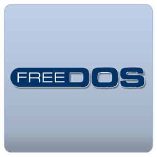 Stylized FreeDOS Logo