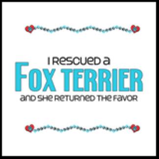I Rescued a Fox Terrier (Female Dog)