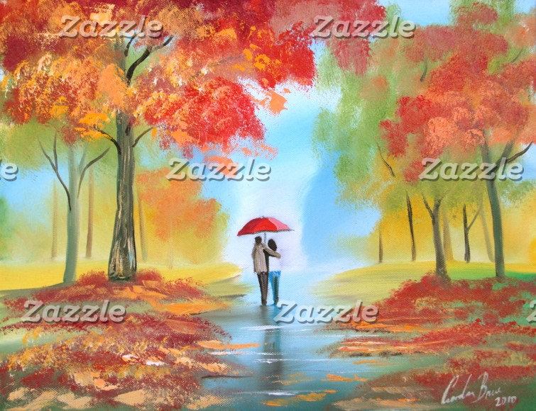 Autumn fall paintings