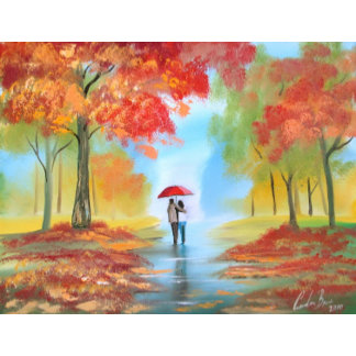 Autumn fall paintings
