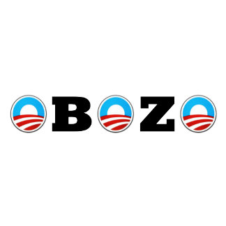 Bozo anti Obama stuff,anti Obama the bozo theme