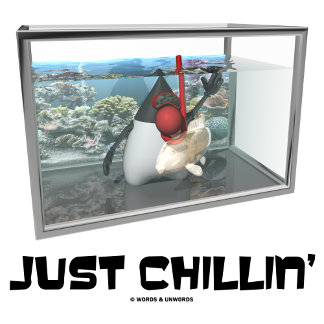 Just Chillin' (Open Source Java Duke Snorkeling)