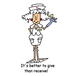 Funny Nurse Suppository