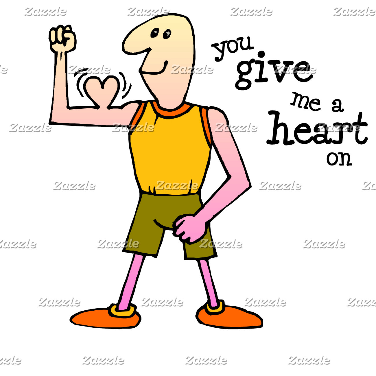 You Give Me a Heart On T-shirts and Vday Gifts