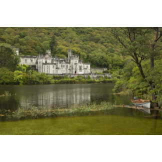 Kylemore Abbey, County Galway, Ireland,