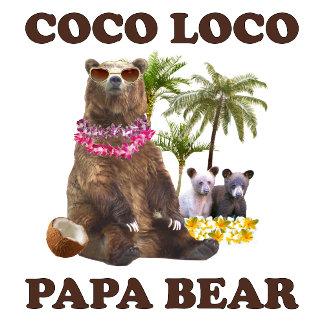 Coco Loco Papa Bear