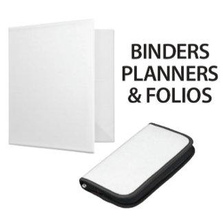 BINDERS, PLANNERS & FOLIOS