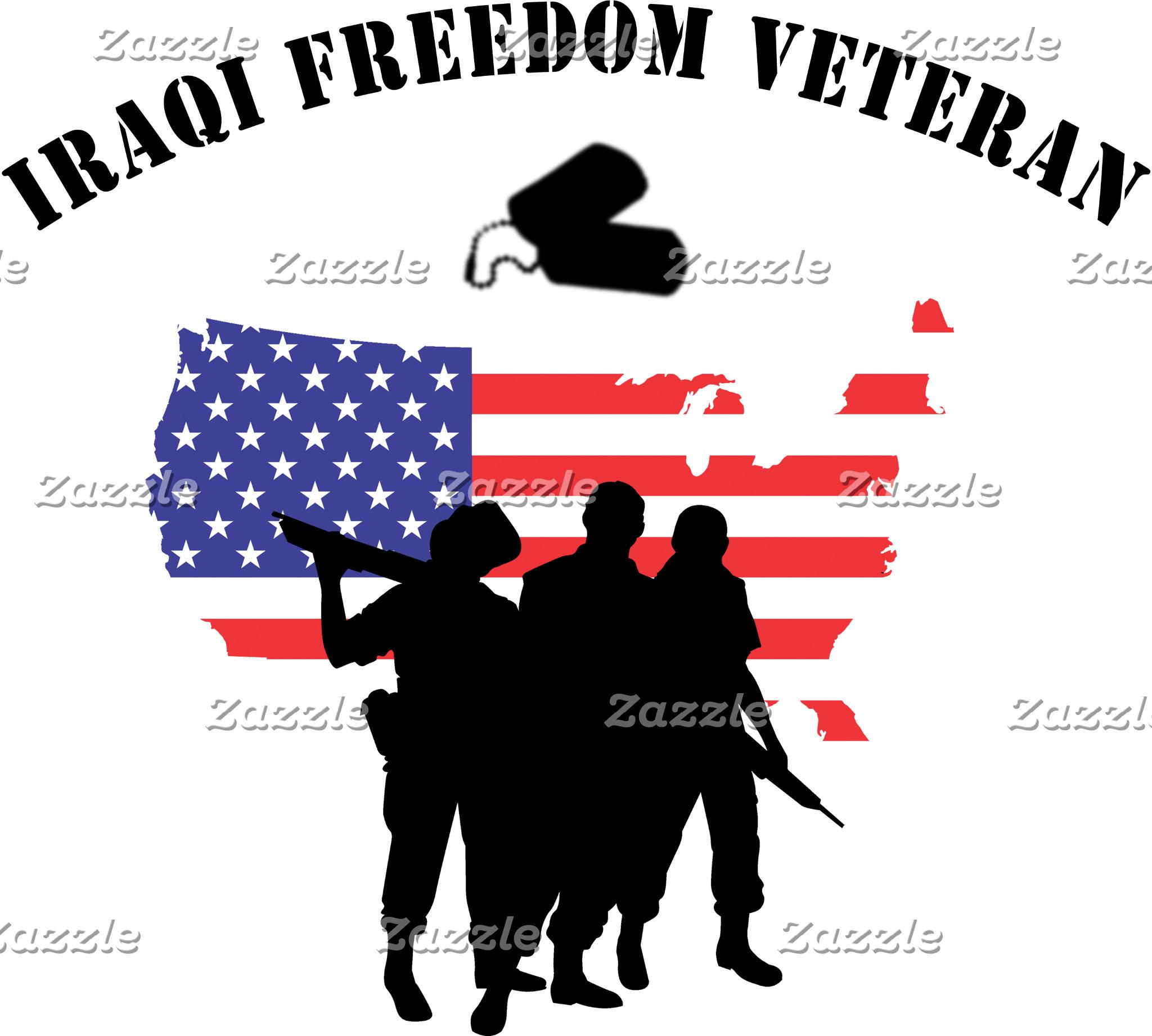 Iraqi Freedom Veteran T-Shirt Gift Cards