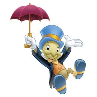 Jiminy Cricket with His Umbrella
