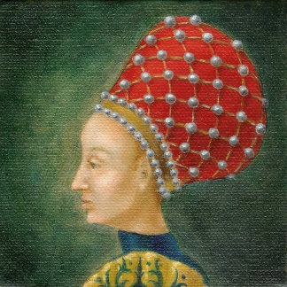 Lady in a Red Balzo