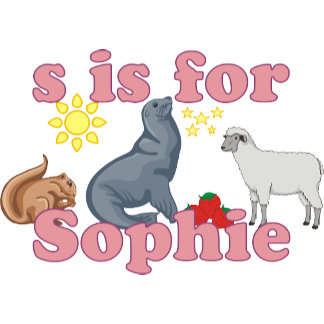 S is for Sophie