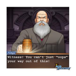 """Judge - """"Oops"""""""