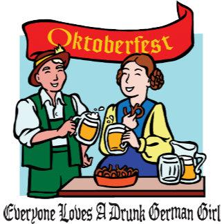 Everyone Loves A Drunk German Girl Oktoberfest