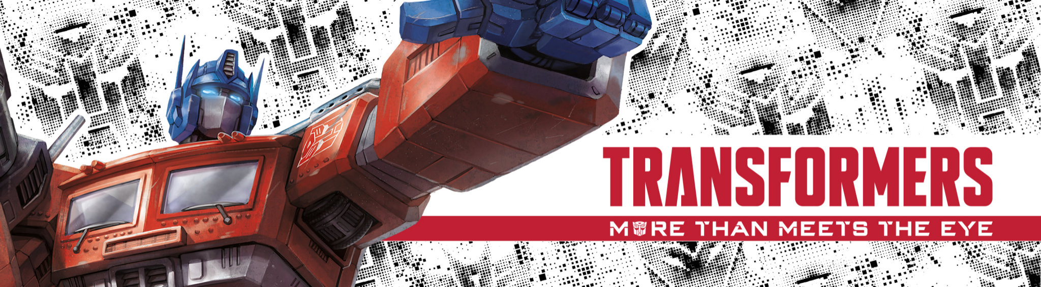Transformers Banner showing a transformed truck