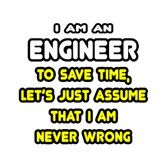 Funny Engineer T-Shirts and Gifts