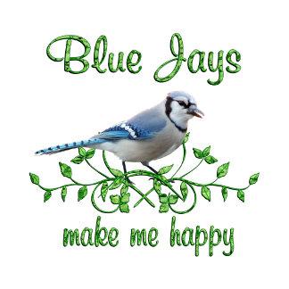Blue Jay Happy