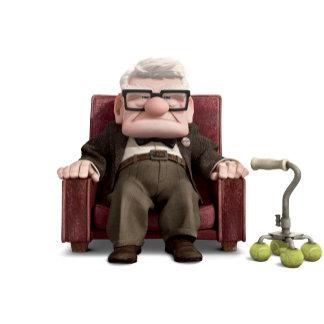 Carl from Disney Pixar UP - Sitting