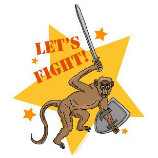 Dane Cook's Fighting Monkey