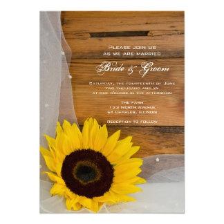 Sunflower and Horseshoe Country Wedding