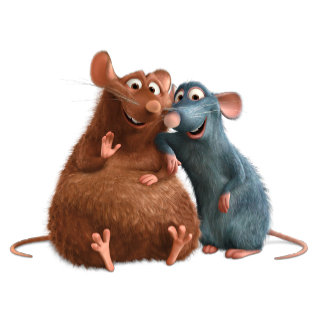 Ratatouille - Emile and Remy