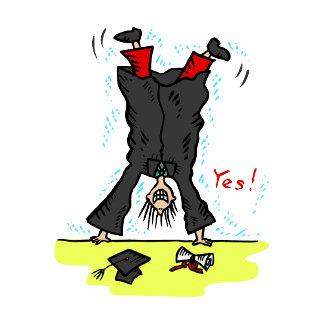 Graduation Cartwheel