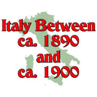 Italy between ca. 1890 and ca. 1900