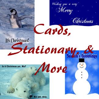 Christmas Cards, Stationary, & More