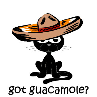 Got guacamole? cat