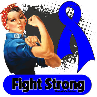 Colon Cancer Fight Strong Rosie Riveter