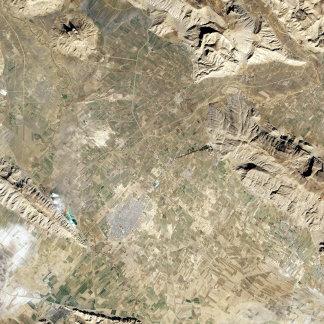 Satellite view of Persepolis