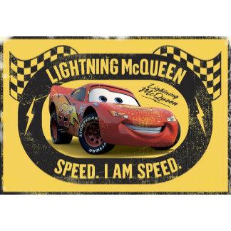 """Lightning McQueen """"Speed. I Am Speed."""""""