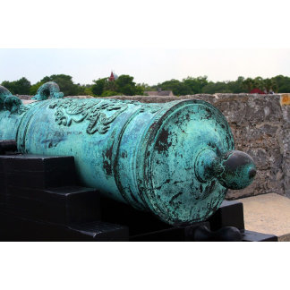 Canon at St Augustine Fort I